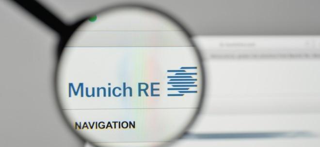 Prämieneinnahmen: Münchener Rück: Corona-Pandemie könnte Markt für Cyber-Versicherungen Schub verleihen - Munich Re-Aktie steigt | Nachricht | finanzen.net