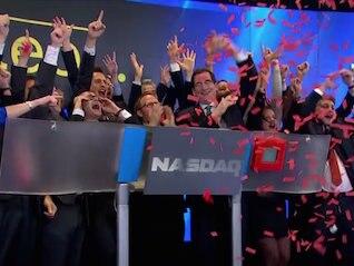 : The Nasdaq hits an all-time high