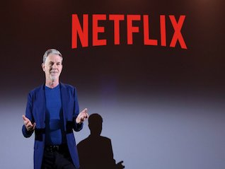 : Netflix falls after slight Q4 revenue miss and solid subscriber-growth numbers (NFLX)