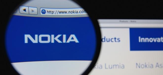Umsatzrückgang: Nokia-Aktie in Rot: Nokia bekommt schwindende Nachfrage zu spüren | Nachricht | finanzen.net