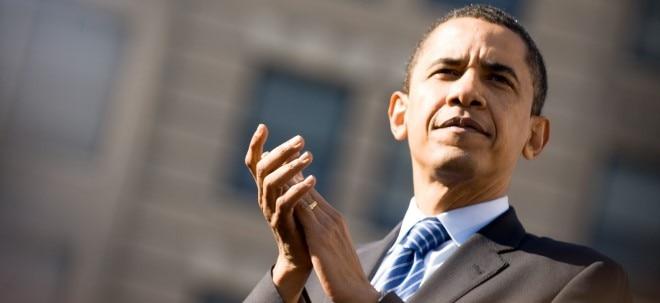 Börsenbilanz: So gut war Präsident Barack Obama für den Aktienmarkt | Nachricht | finanzen.net