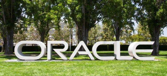 Trotz höherem Umsatz: Oracle-Aktie knickt kräftig ein: US-Steuerreform brockt Oracle Milliardenverlust ein | Nachricht | finanzen.net