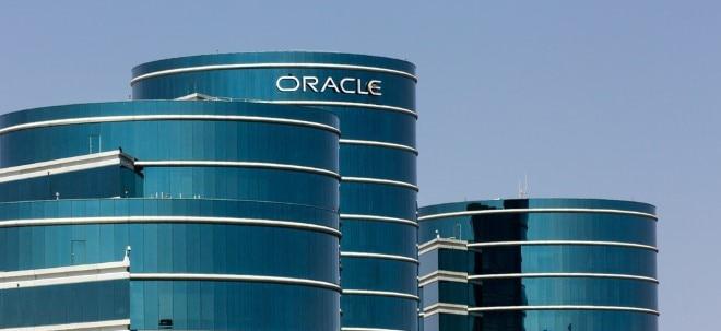 Erwartungen geschlagen: Oracle-Aktie legt deutlich zu: Gewinnsteigerung überzeugt Oracle-Aktionäre | Nachricht | finanzen.net