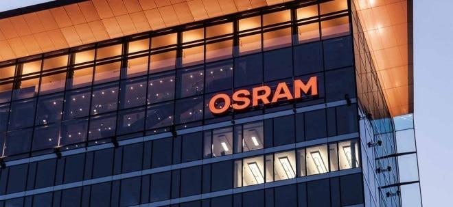 Übernahmeinteresse erloschen: Bieterwettstreit vorbei: ams beendet Übernahmegespräche mit OSRAM schnell wieder - ams-Aktie wechselt Vorzeichen | Nachricht | finanzen.net