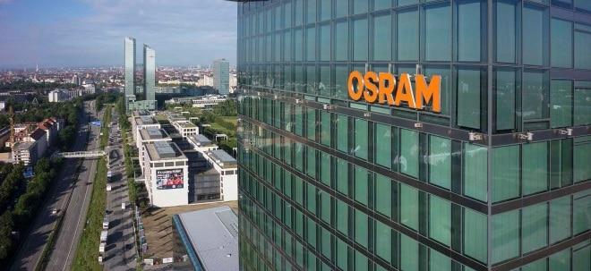 Abstufung belastet: OSRAM-Aktien fallen nach Verkaufsempfehlung der SocGen | Nachricht | finanzen.net