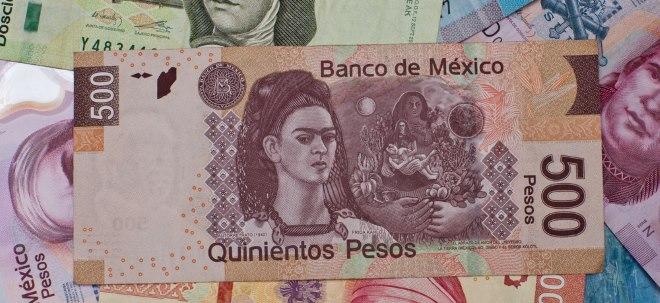 Staatsanleihen gefragt: Mexikanischer Peso legt zu - Einigung im Handelsstreit mit den USA | Nachricht | finanzen.net
