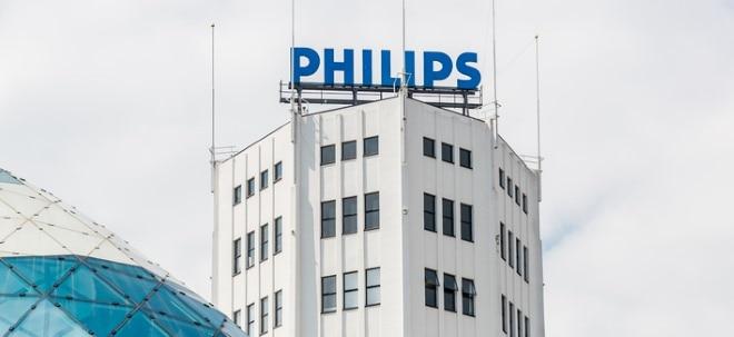 Vor Bilanzvorlage: Erste Schätzungen: Philips zieht Bilanz zum jüngsten Jahresviertel | Nachricht | finanzen.net