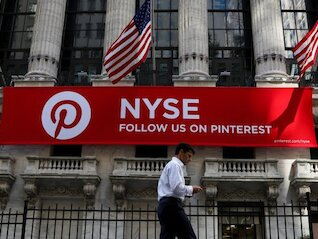 : Pinterest, the latest unicorn to hit the public market, jumps 25% in its trading debut (PINS)