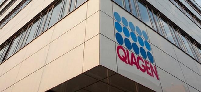 Erholung: QIAGEN-Aktie zieht an - Wieder Übernahmespekulationen