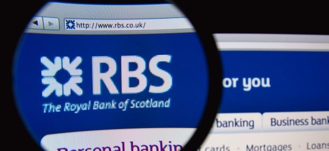 Trotzdem über Ewartungen: RBS macht weniger Gewinn - Aktie tiefrot | Nachricht | finanzen.net