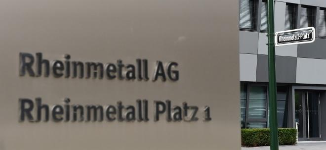 Umsatz kräftig gewachsen: Rheinmetall verdient dank Rüstungsgeschäft besser - Aktie fester | Nachricht | finanzen.net