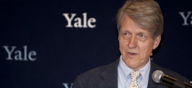 Angstgefühle: Nobelpreisträger Shiller: Das Bärenmarktrisiko ist noch nicht vorbei | Nachricht | finanzen.net
