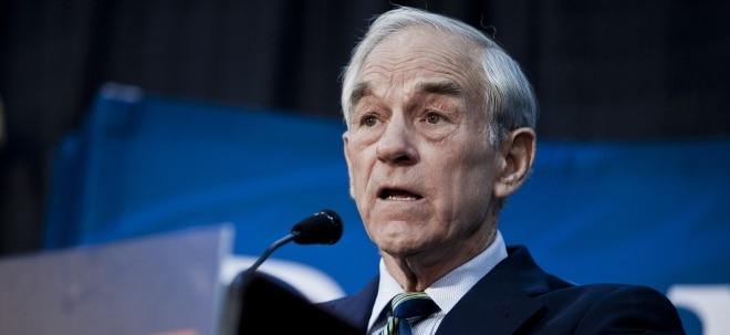 Platzen der Anleihenblase: Ron Paul sicher: Negativzinsen in den USA werden kommen | Nachricht | finanzen.net