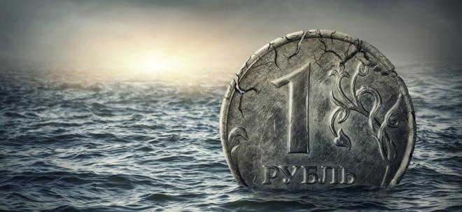 Ölpreise drücken Rubelkurs: Russischer Rubel fällt auf Rekordtief   Nachricht   finanzen.net
