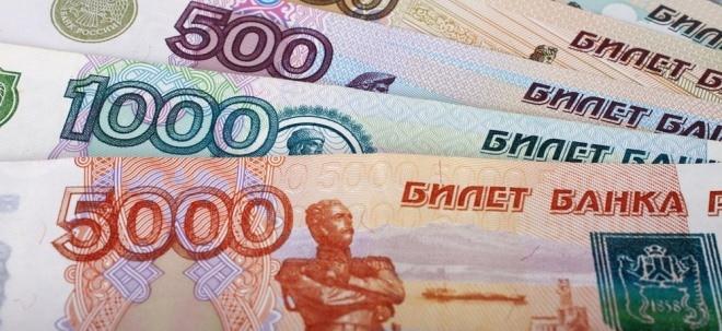 Devisen-Tipp: Den Rubel rollen lassen: Warum die Devise wieder steigen dürfte | Nachricht | finanzen.net