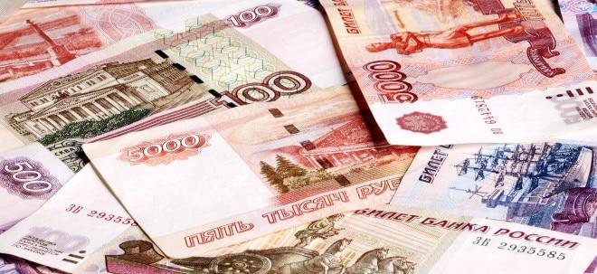 Niedriger Ölpreis: Russischer Rubel rutscht auf Tiefstand seit Dezember   Nachricht   finanzen.net