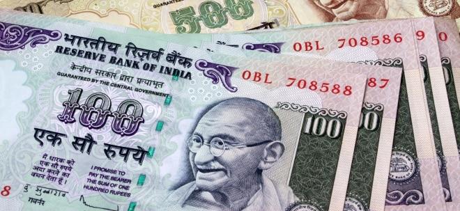 Extrem schwache Teuerung: Indische Notenbank senkt Leitzins - Rupie steigt auf Zweijahreshoch | Nachricht | finanzen.net