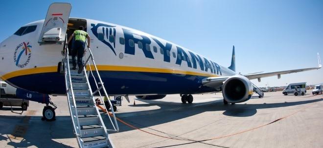 Trotz Steigerung: Ryanair bleibt 2018 bei Fluggästen wohl hinter Lufthansa zurück | Nachricht | finanzen.net