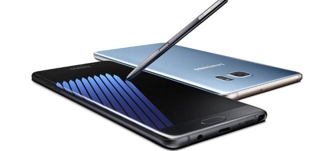Ab Juli: Samsung plant offenbar Comeback von Pannen-Smartphone Note 7 | Nachricht | finanzen.net