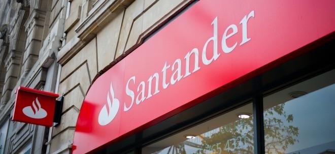 Abschreibungen belasten: Santander überrascht trotz Milliardenverlust positiv - Aktie legt zu | Nachricht | finanzen.net