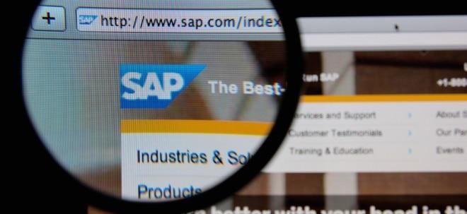 Wachstumsprognosen erhöht: SAP-Aktie gibt ab: SAP-Geschäfte laufen rund - Betriebsergebnis im Fokus