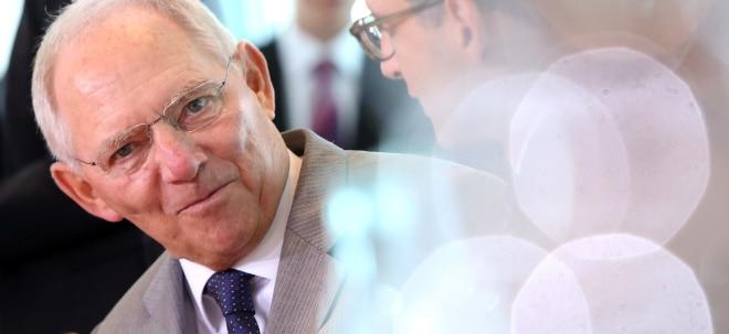Starkes Einnahmenplus: Steuern sprudeln für Schäuble im ersten Quartal   Nachricht   finanzen.net