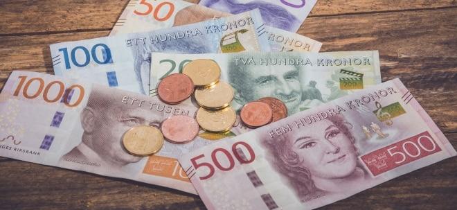 Erholungskurs: Suche nach Gründen: Eurokurs legt zu - Schwedische Krone unter Druck | Nachricht | finanzen.net