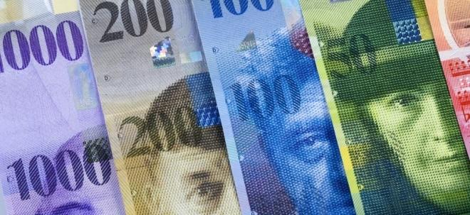 Positive Konjunkturdaten: Euro bleibt gefragt - Schweizer Franken fällt weiter | Nachricht | finanzen.net