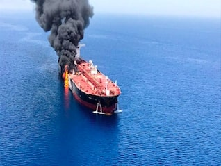 : Oil is being propped up by Middle East tensions after the US used video to blame Iran for tanker attacks