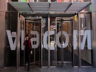 : Viacom climbs amid reports merger talks with CBS are heating up (VIAB)