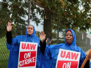 : GM tumbles on first union strike in 12 years, which could cost it $50 million a day (GM)