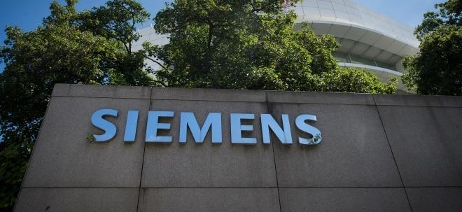 Siemens-Aktie in der Chartanalyse: neues 4-Wochen Hoch