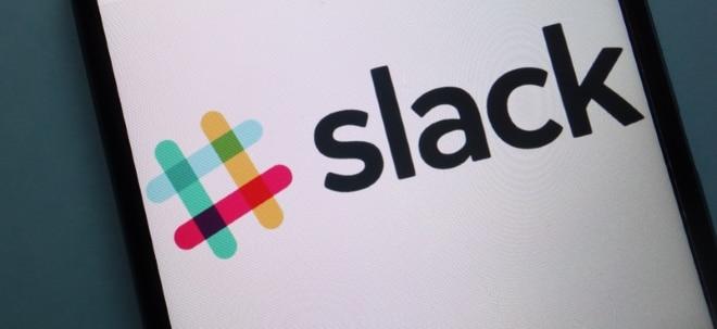 Bilanzvorlage: Slack mit starken Zahlen: Neuer Kundenrekord - Slack-Aktie etwas fester | Nachricht | finanzen.net