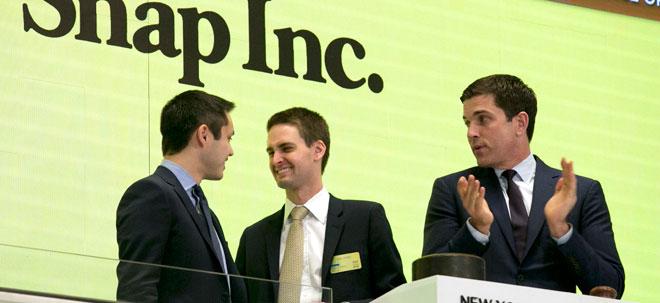 Tausende neue Depots: Snap-Aktie: Das Snapchat-IPO hatte einen unerwartet positiven Nebeneffekt | Nachricht | finanzen.net
