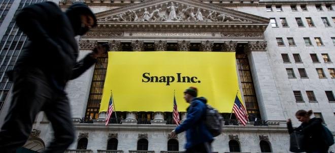 Nutzerzuwachs: Snap-Aktie: Snapchat-Mutter steigert Umsatz deutlich - Aktie verliert deutlich | Nachricht | finanzen.net