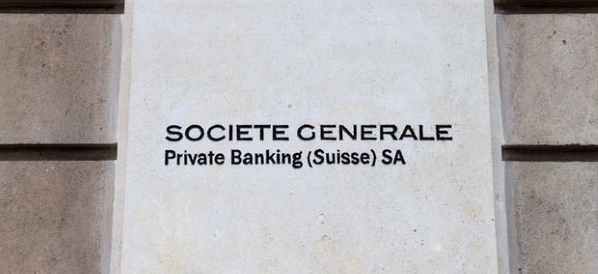 Erträge gehen zurück: SocGen-Aktie im Plus: Société Générale kappt nach Gewinneinbruch Renditeziel | Nachricht | finanzen.net