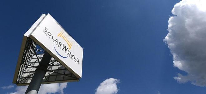 Aktionäre gehen leer aus: SolarWorld-Aktie fällt: SolarWorld-Chef Asbeck kauft sein eigenes Unternehmen | Nachricht | finanzen.net