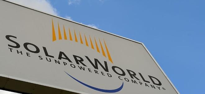 Kaufvertrag geschlossen: SolarWorld: Investor kauft deutsche Werke der insolventen SolarWorld-Gruppe | Nachricht | finanzen.net