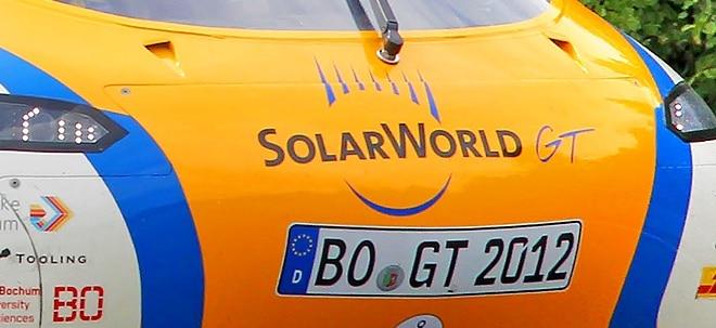 Vorsorge: Belegschaft von Solarworld informiert - Gewerkschaft sieht Strohhalm | Nachricht | finanzen.net
