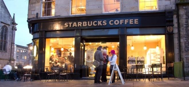 Starbucks-Aktie profitiert: Starbucks schlägt Umsatzerwartungen
