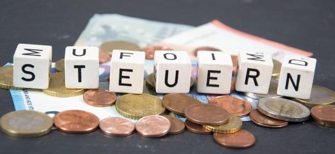 Starkes Einnahmenplus: Steuern sprudeln für Schäuble im ersten Quartal | Nachricht | finanzen.net
