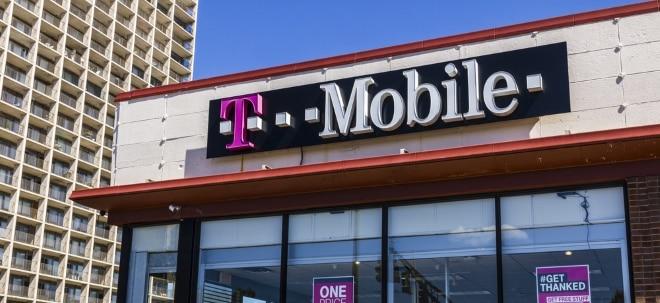 Keine Einigung: Telekom-Aktie deutlich im Minus - Sprint-Aktie bricht ein: T-Mobile US und Sprint beenden Fusionsgespräche | Nachricht | finanzen.net