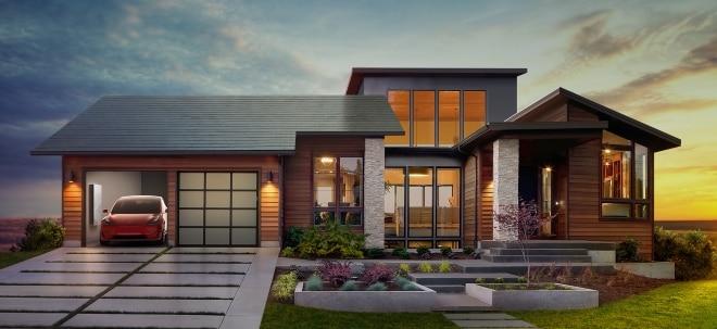 Teures Solardach: Preisplus von bis zu 80 Prozent: Tesla macht Solar Roof deutlich teurer | Nachricht | finanzen.net