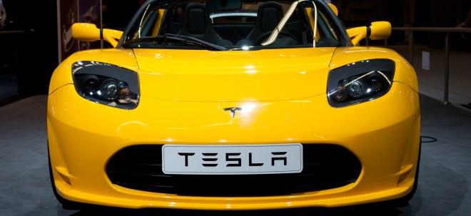 Vorläufiger Maßnahmenbeginn: Tesla-Aktie leichter: Bund erlaubt Tesla erste Arbeiten für geplante Batteriefabrik | Nachricht | finanzen.net