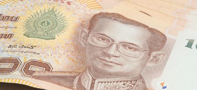 Börse weiter unter Druck: Thailands Währung Baht stabilisiert sich | Nachricht | finanzen.net