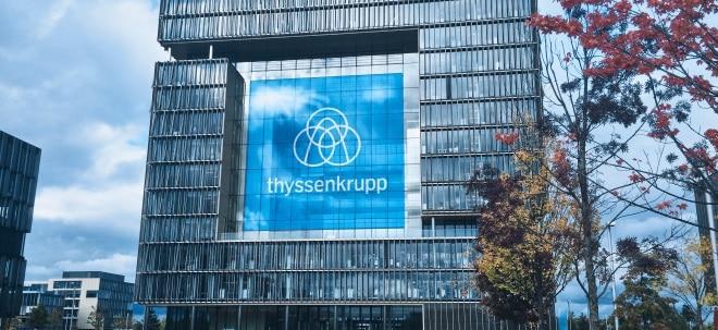Im Umbau: thyssenkrupp-Aktie im Plus: thyssenkrupp verliert Stahlchef Premal Desai | Nachricht | finanzen.net