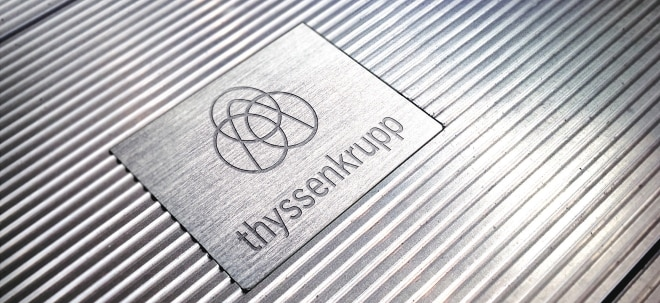 Bookbuilding-Verfahren: thyssenkrupp-Aktie dreht ins Plus: Kapitalerhöhung abgeschlossen - Neue Aktien zu 24,30 Euro | Nachricht | finanzen.net