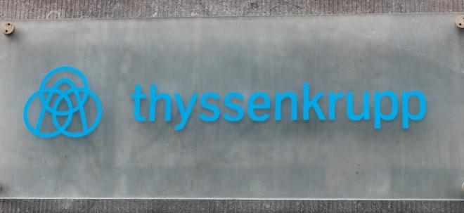 Milliarden-Deal: thyssenkrupp-Aktie vorbörslich tiefrot: Aufzugssparte geht an Konsortium um Advent