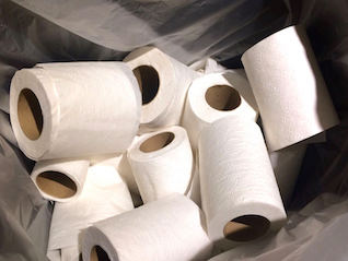 : Businesses in Taiwan are logging their employees' toilet-paper use as the country grapples with a shortage