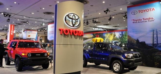 Umsatz abgesackt: Toyota rechnet wegen Corona-Pandemie mit Gewinneinbruch | Nachricht | finanzen.net